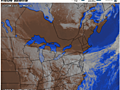 New England keeps sunshine; farther south not so much