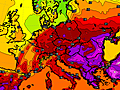Europe Warmth This Week