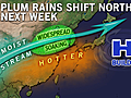 Plum Rains to Shift North Next Week