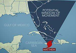 Tracking Matthew