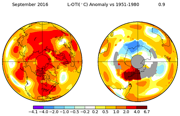 Last Month Was the Hottest September Since We Started Keeping Records