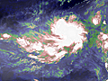 Unusual January tropical activity in Pacific, South Atlantic