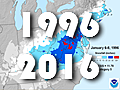 1996 blizzard similar to 2016; Will there be a flood?