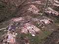 2011 Tuscaloosa-Birmingham tornado aerials before and after