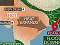 New all-time record high temperature in India!