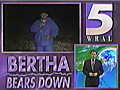 Hurricane Bertha Hits North Carolina, 20 Years Ago