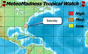 Active days of severe weather plus the tropical threat