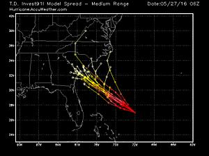 Tropical system to track to South Carolina