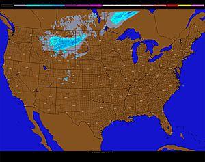 Snow hits Montana, tropics get active again