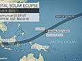 March 9 eclipse almost here; updated cloud forecast