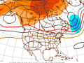 Clues to the extended forecast through the end of July