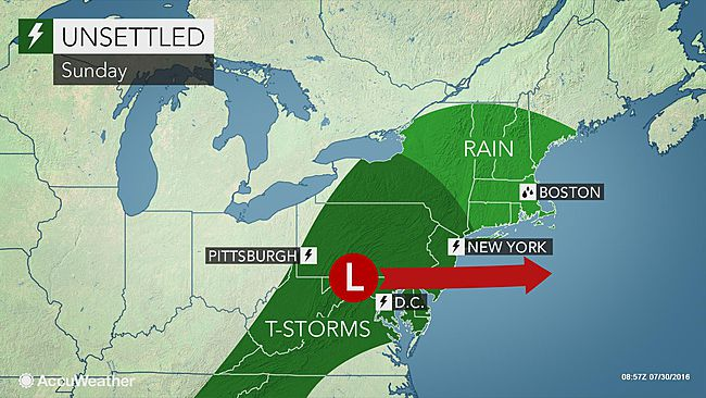 Soaking storms to elevate flash flood threat in northeastern US this weekend