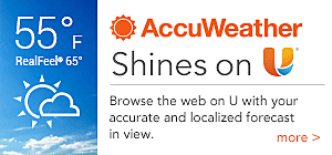 AccuWeather Shines on U