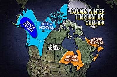 NOAA Previsioni Invernali 2010/2011 U.S.A. 400x266_10251404_canadawintertempsmap