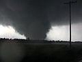 Violent Tornadoes Swarming I-35 Corridor This Evening