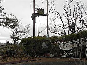 Sudáfrica Daños Tornado Casas, mata a ocho 300x225_06241700_africatornado1