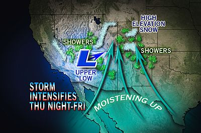 SoCal Storm, Severe Weather, Northeast Cold