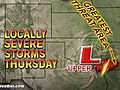 Severe Storms Threaten Texas, Louisiana
