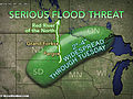 Renewed River Flood Threat for Northern Plains