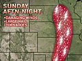More Severe Weather Across Plains Sunday