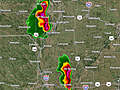 Live Blog: Hail and Severe Storms in Plains