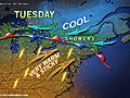 Summerlike Tuesday in DC, Philadelphia, New York