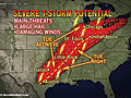 Severe Storms From Texas to New York