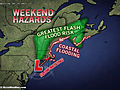 Northeast Memorial Day Weekend Starts Stormy, Nasty