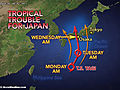 Tropical Troubles Await Japan
