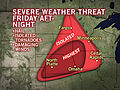 Strong Storms Erupt Over Plains, Colorado Friday