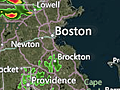 Fast-Moving Storms Over Boston, Hartford