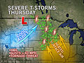 Severe Weather Takes Aim at Minneapolis, Fargo