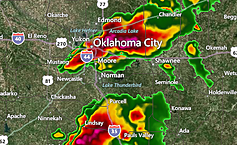 Large Tornado Hits Moore, Oklahoma