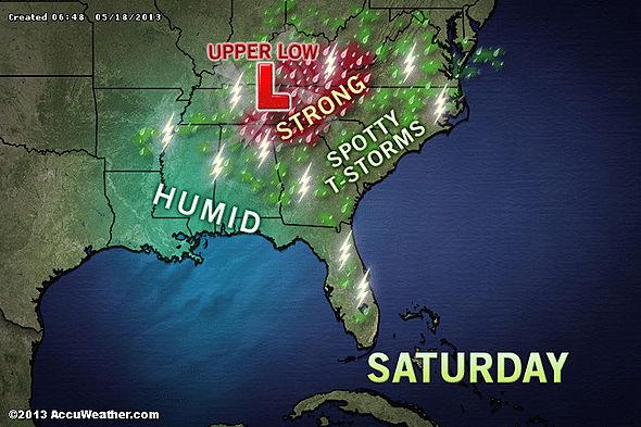 Image d'illustration pour Tempête Alvin - Tornades en Alabama & autres brèves météo