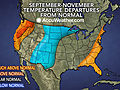 US Fall Outlook: How Will Weather Shape Home Heating Costs?