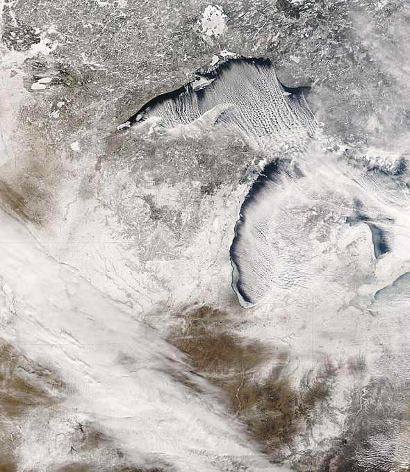Potential Record Ice on Lake Superior May Mean a Cool Spring