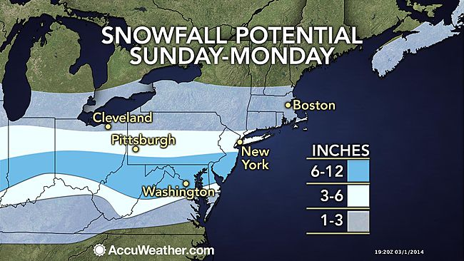 Who's getting your attention... God?... or Al Gore? Another Major Travel-Disrupting Snow Looms - St. Louis to Wash DC, Philly, New York!