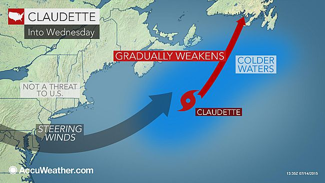 Tropical Storm Claudette