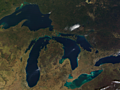 Great Lakes nearly devoid of ice as El Nino-influenced warmth dominates early winter
