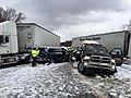 Deadly pileup shuts down I-90 in Lake County, Ohio