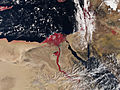 Weekly wrap-up: April snow blankets northeastern US; Satellite capture of blood red Nile River goes viral