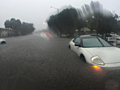 PHOTOS: Nearly a foot of rain turns streets into rivers in Vero Beach, Florida