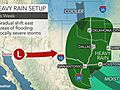 When will the central US get a break from severe weather?