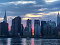 Manhattanhenge 2016: Cloudy skies may hinder views of the picturesque NYC phenomenon