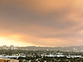 PHOTOS: Sand Fire smoke creates hazy, orange sky over Los Angeles