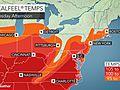 Dangerous heat wave to persist in northeastern US this week