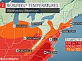 Dangerous heat wave to persist in northeastern US this week