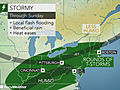 Torrential downpours in northeastern US to ease heat wave, raise flash flood risk