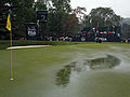 2016 PGA Championship: Drenching weekend rain suspends play again on Saturday