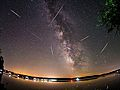 PHOTOS: Skywatchers capture breathtaking views of glowing Perseid meteors from around the world
